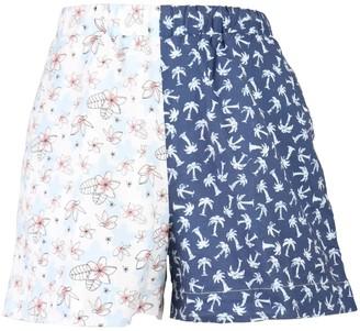 Nim Pj Short - Pima Cotton Tropical Prints