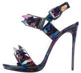 Christian Louboutin Miziggoo Iridescent Sandals
