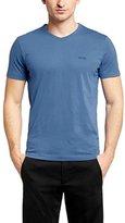 HUGO BOSS Mens Short Sleeve Tee T-shirt - Medium Blue (XXL)