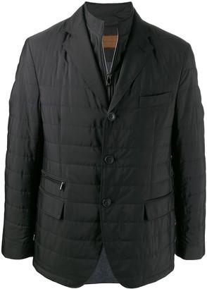 Corneliani layered quilted blazer