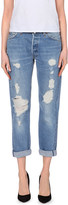 RE/DONE Relaxed slim-fit mid-rise jeans