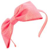 Kate Spade Large Glitter Bow Headband (Big Girls)