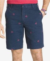 Izod Men's Lobster-Print Cotton Shorts