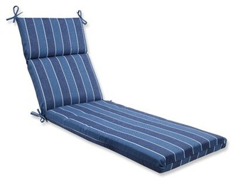 Longshore Tides Baggett Indoor/Outdoor Chaise Lounge Cushion Fabric: Indigo