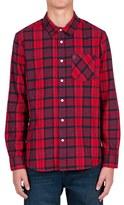 Volcom Men's 'Gaines' Plaid Flannel Shirt