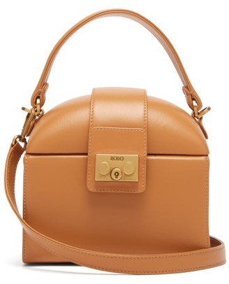 Rodo Trunk Leather Cross-body Bag - Womens - Tan