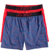 Jockey Men's 2-Pack Knit No Bunch Boxer, Created for Macys