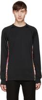 Comme des Garcons Black Floral Mesh T-Shirt