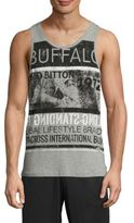 Buffalo David Bitton Printed Sleeveless Tee