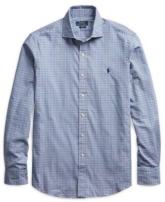 Ralph Lauren Custom Fit Plaid Twill Shirt