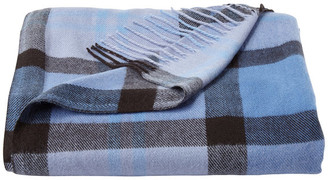 Lhc Lavish Home Faux Cashmere Acrylic Throw Blanket,, Night Shadow