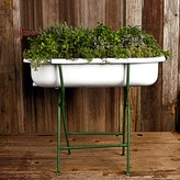 Williams-Sonoma Williams Sonoma Vintage Bathtub with Stand