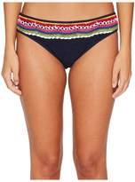 Nanette Lepore Peace Love Charmer Bikini Bottom Women's Swimwear