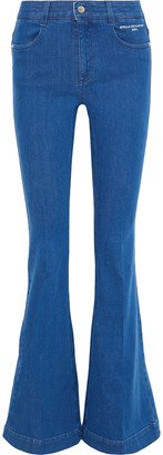 Stella McCartney The '70s Flare High-rise Flared Jeans