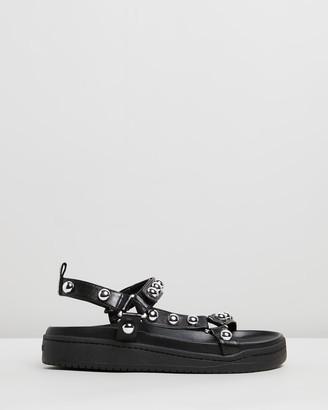 Schutz Stud Sandals