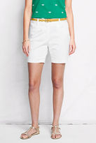 """Lands' End """"Women's Fit 2 7"""""""" Stretch Chino Shorts"""