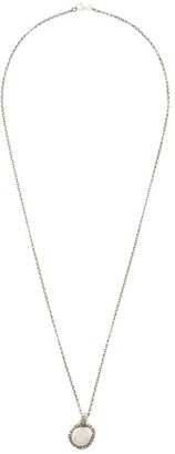 Rosa Maria Hammered pendant necklace