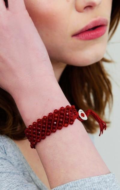 Chan Luu Tassel Bracelet