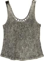 RVCA Junior's Leg up Scoop Neck Tank