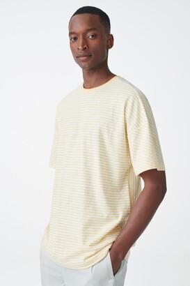 Cos Relaxed Organic Cotton-Linen T-Shirt