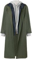 Semi-Couture Semicouture layered jacket