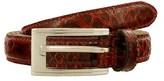 Renato Balestra Stilosoma Ro Redpython Leather Womens Belt.