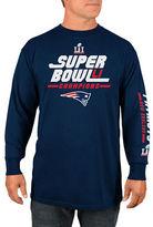 Majestic New England Patriots Super Bowl Core Winner Long Sleeve Tee