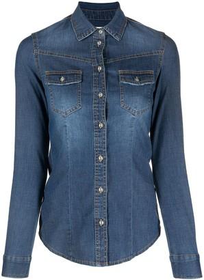 Bazar Deluxe Long-Sleeve Denim Shirt