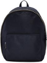 Stella McCartney Navy Falabella Backpack