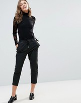 Only Poppy PU Ankle Pant