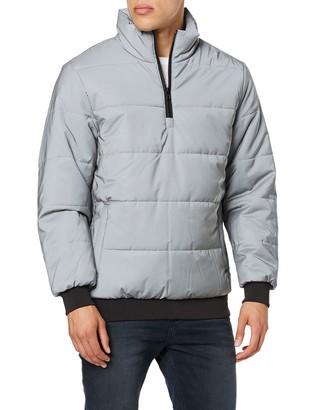 Urban Classics Men's Reflective Pullover Jacket