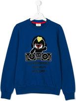 Fendi teen DJ sweatshirt