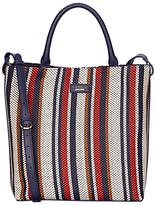 Fiorelli Mckenzie North South Tote Bag, Navy Weave