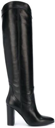 Paul Warmer Knee-Length High-Heel Boots