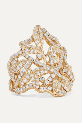 OLE LYNGGAARD COPENHAGEN Winter Frost 18-karat Gold Diamond Ring - 55