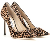 Jimmy Choo Romy 100 Printed Calf Hair Pumps