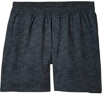 The Normal Brand 7 Bros Workout Shorts (Black) Men's Shorts
