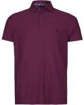 Jeff Banks Casual Reverse Fine Stripe Slim Fit Polo