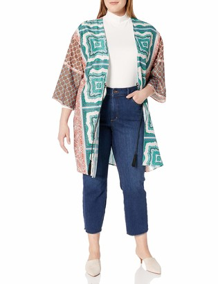 Single Dress Women's Plus Size Kelly Kimono