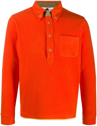 Anglozine Brook button-down polo