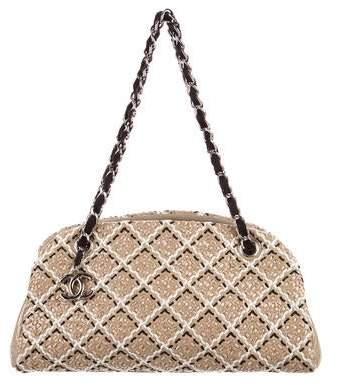Chanel Just Mademoiselle Stitch Bowler Bag