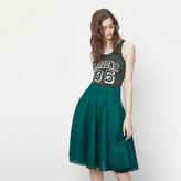 Maje Technical knit skirt
