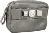 Juicy Couture Bella Leather Clutch (Heavy Metal) - Bags and Luggage