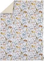 DwellStudio Dwell Studio Safari Animal Print Comforter, Gray/Yellow/Orange