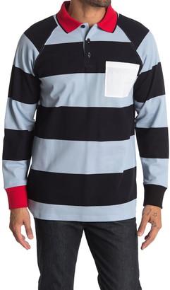 Burberry Barford Rugby Stripe Polo Shirt