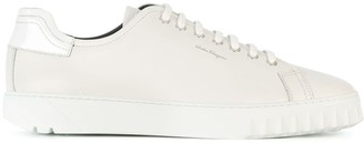 Salvatore Ferragamo Spike-Trimmed Sneakers