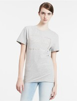 Calvin Klein Fitted Frame Logo T-Shirt