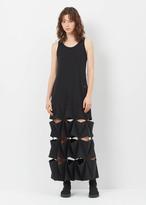 Y-3 black future craft dress
