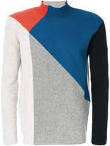 Kenzo colour contrast sweater