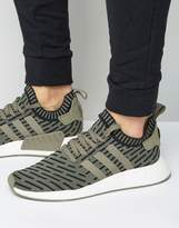 adidas NMD_R2 Sneakers In Green BA7198